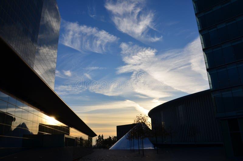 Philharmonie Lussemburgo fotografie stock libere da diritti