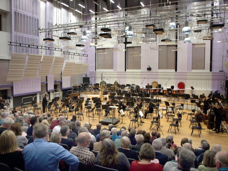 Philharmonisches Rundfunkstudio Media City Großbritannien Salford größeres Manchester England BBCs am 21. November 2013 stockfotos
