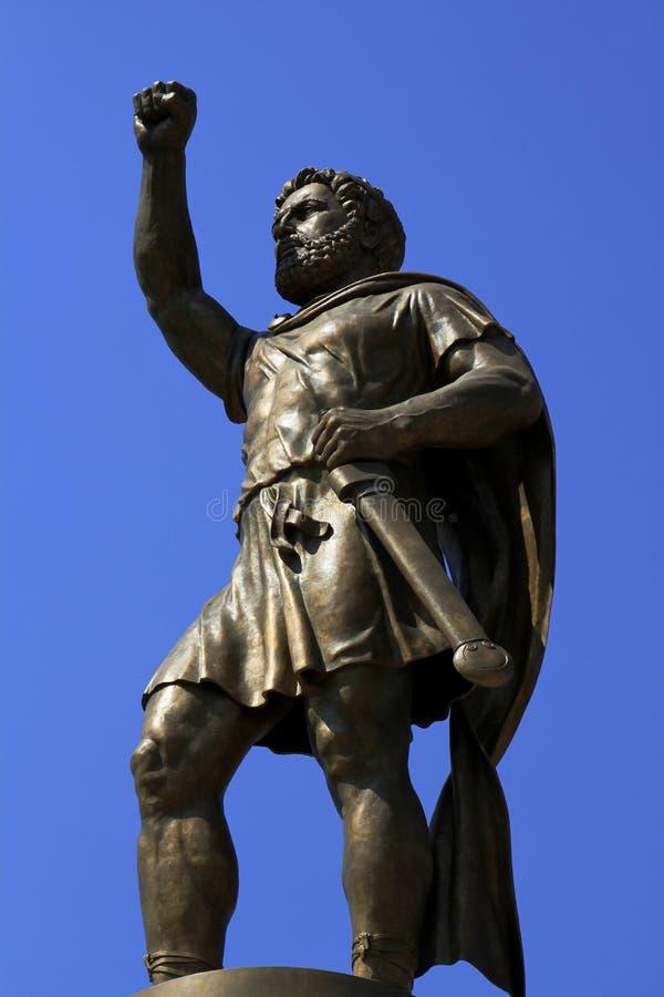 Philip II, rei de Macedónia imagens de stock