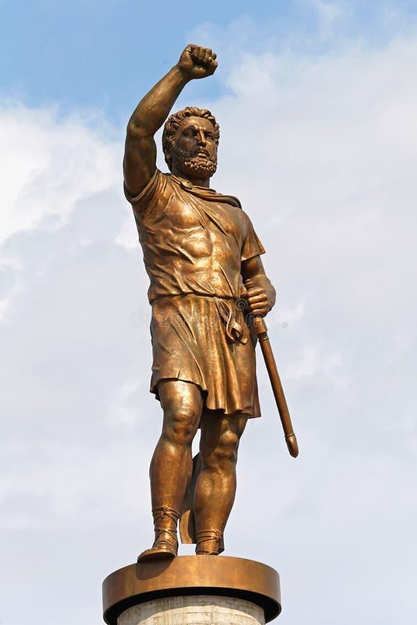 Philip II von Mazedonien stockbild
