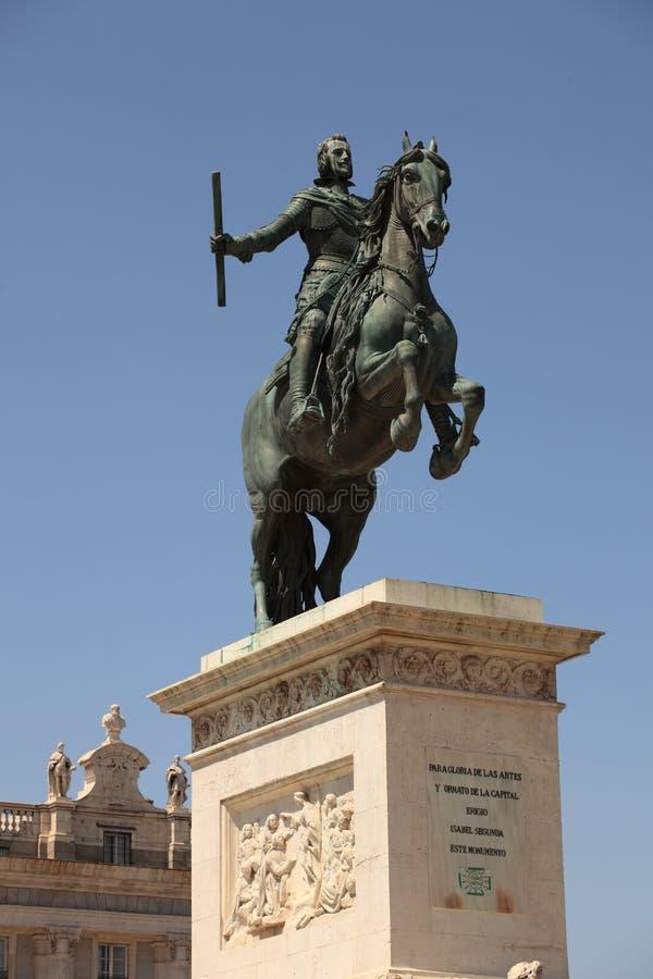 Philip IV King of Spain stock photos