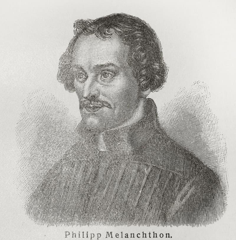 Philipp Melanchthon stockfoto