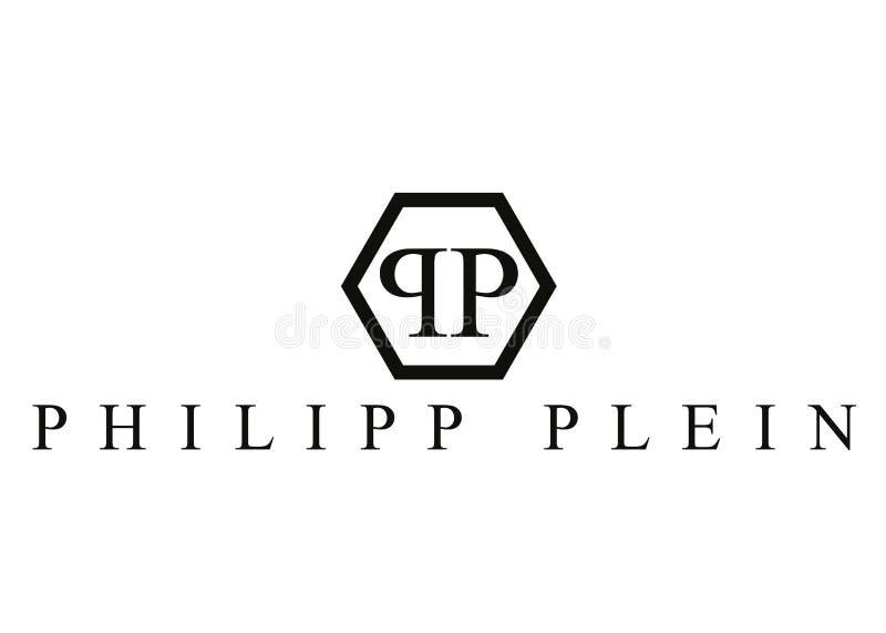 Philipp Plein Logo ilustração stock