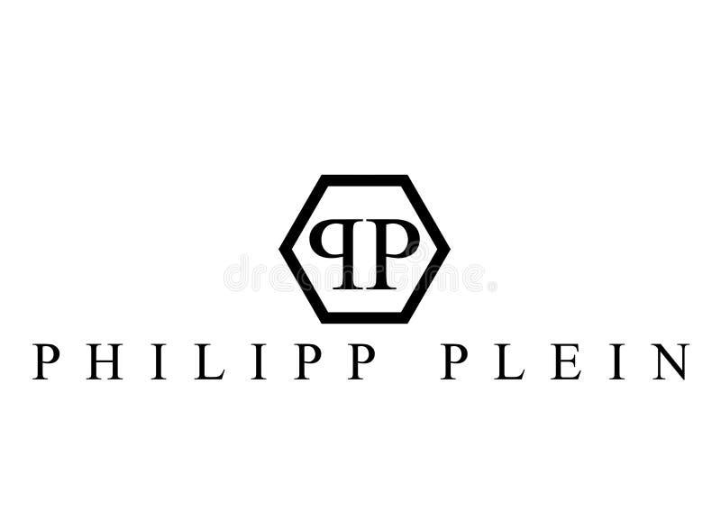 Philipp Plein logo royalty free stock photography