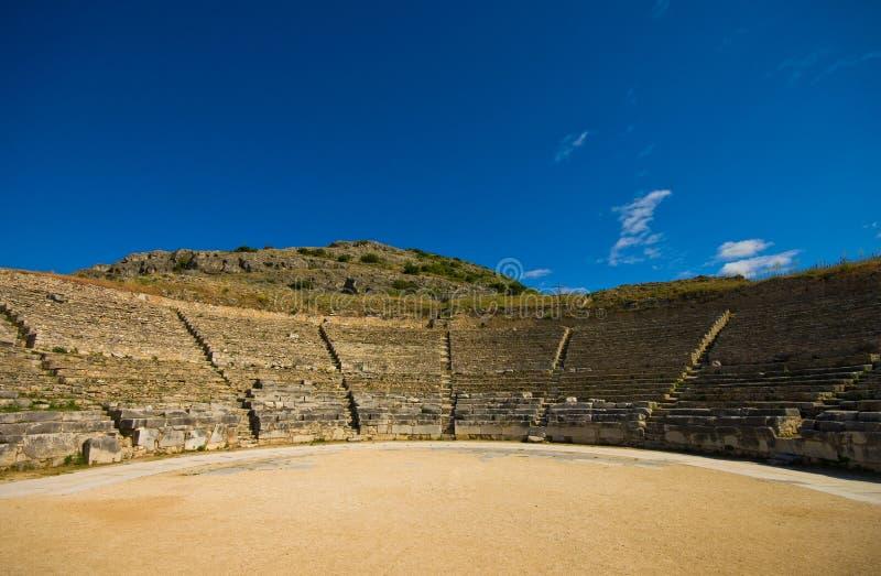 Philippi amphitheater royalty free stock photos