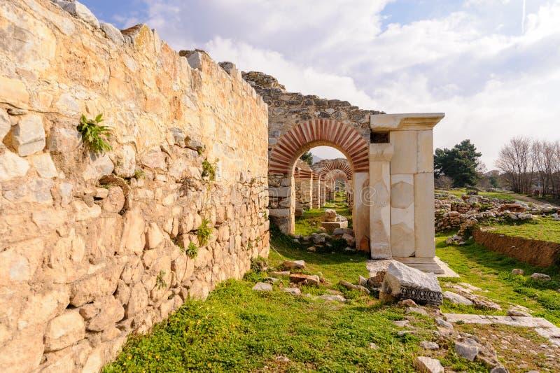 Philippi teatru scena obrazy stock