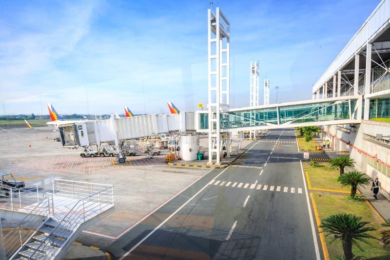 Philippine Airlines PAL at NAIA International Airport Terminal royalty free stock photos