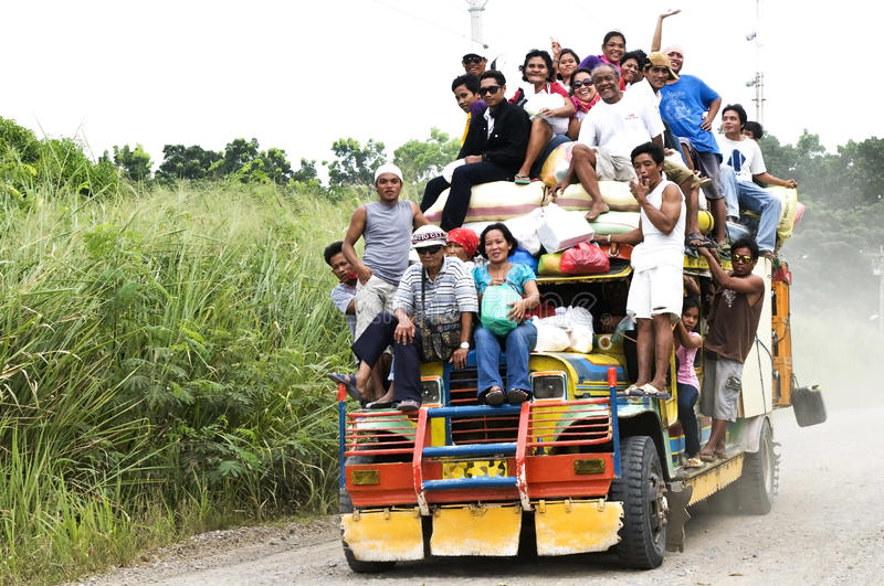Download Philippine jeepney editorial image. Image of vehicle - 23019350