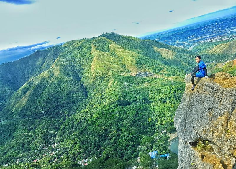 philippine mountains royalty free stock image
