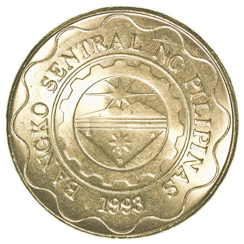 Coin Ph: 5 Philippine Peso Coin Stock Photo. Image Of Philippines