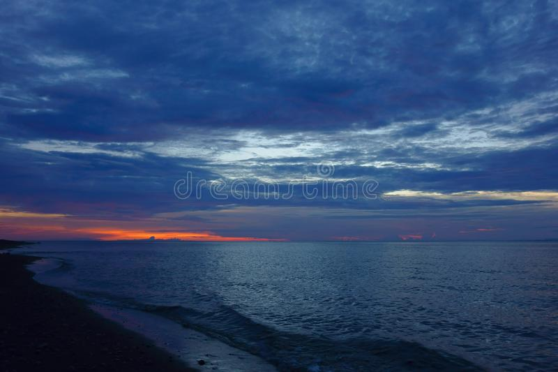 After sunset royalty free stock photos