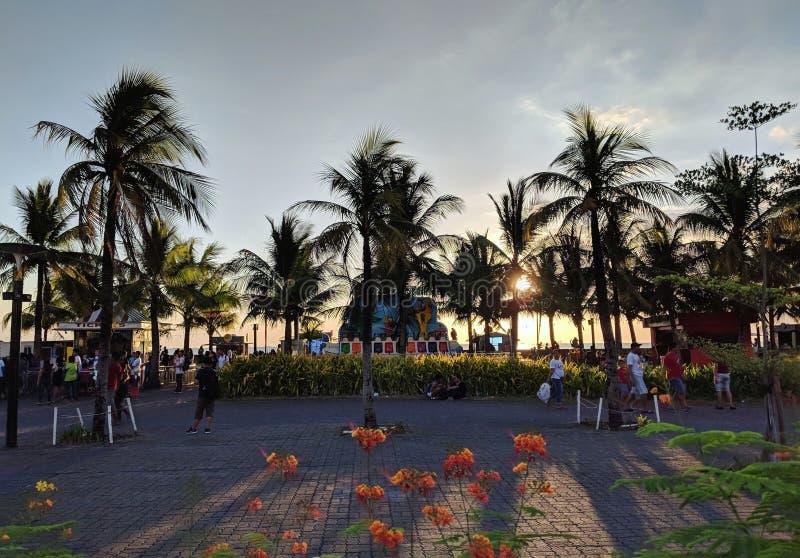 Philippine Sunset stock photos