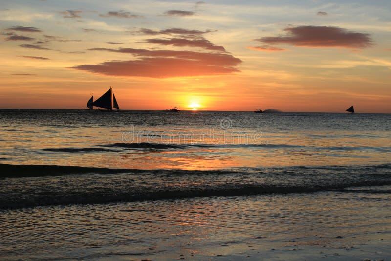 Philippinen, Boracay stockfotos