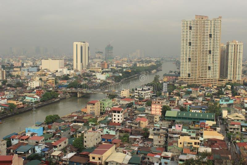 Philippinen-Stadt Manila stockfotos