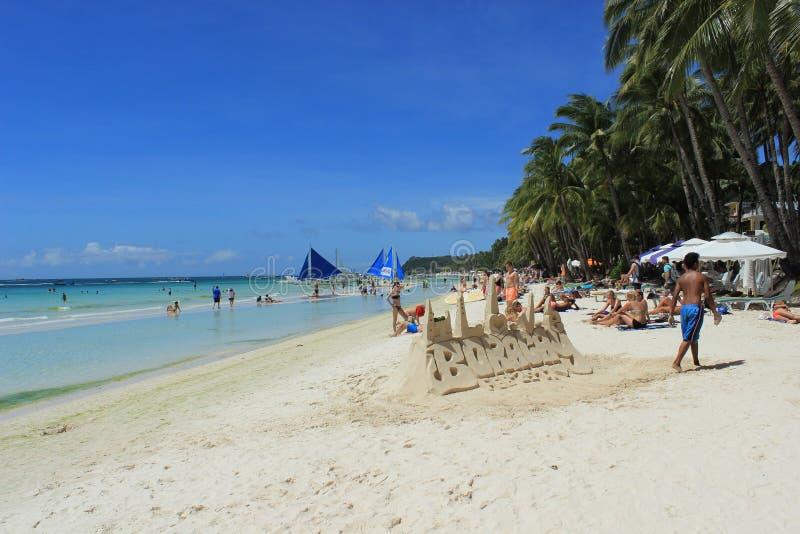 Philippines, Boracay stock photography