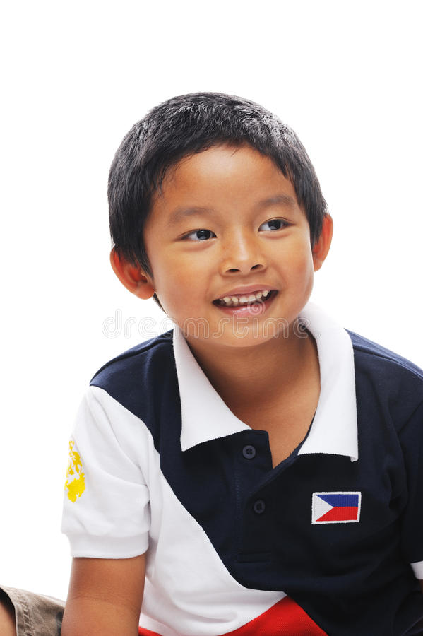 Download Philippines boy stock image. Image of white, background - 25964429