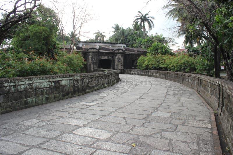 Philippines city Manila. Historic Park, Philippines city Manila royalty free stock photography
