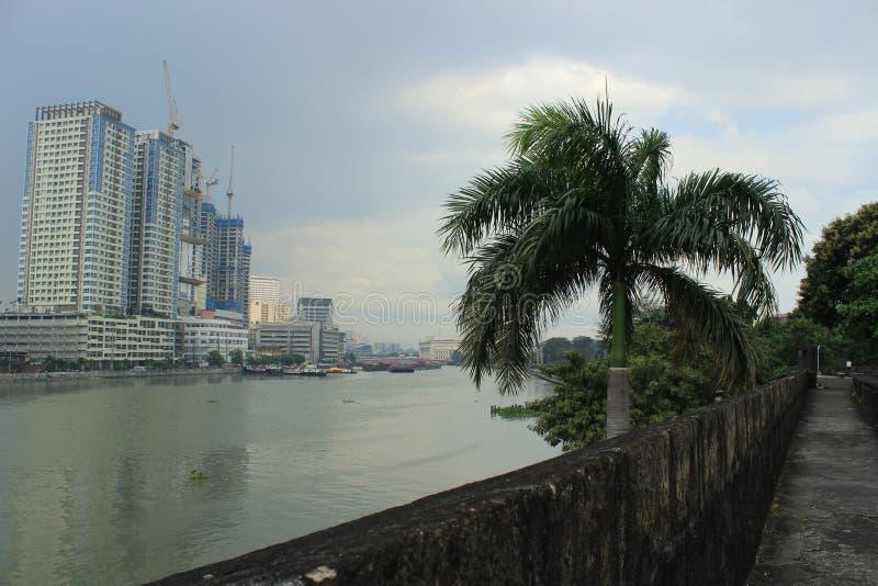 Philippines city Manila royalty free stock photography