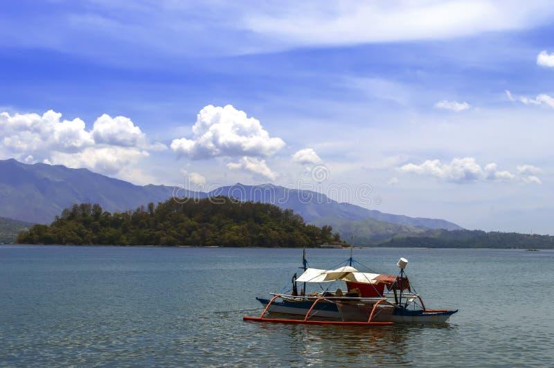 Philippines Fishing Boat. Philippines Fishing Boat in Subic Bay. Olongapo City royalty free stock photos
