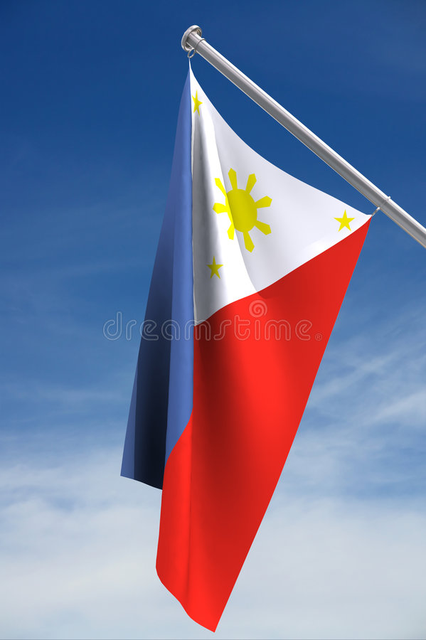 Download Philippines Flag stock illustration. Image of colours - 2403238