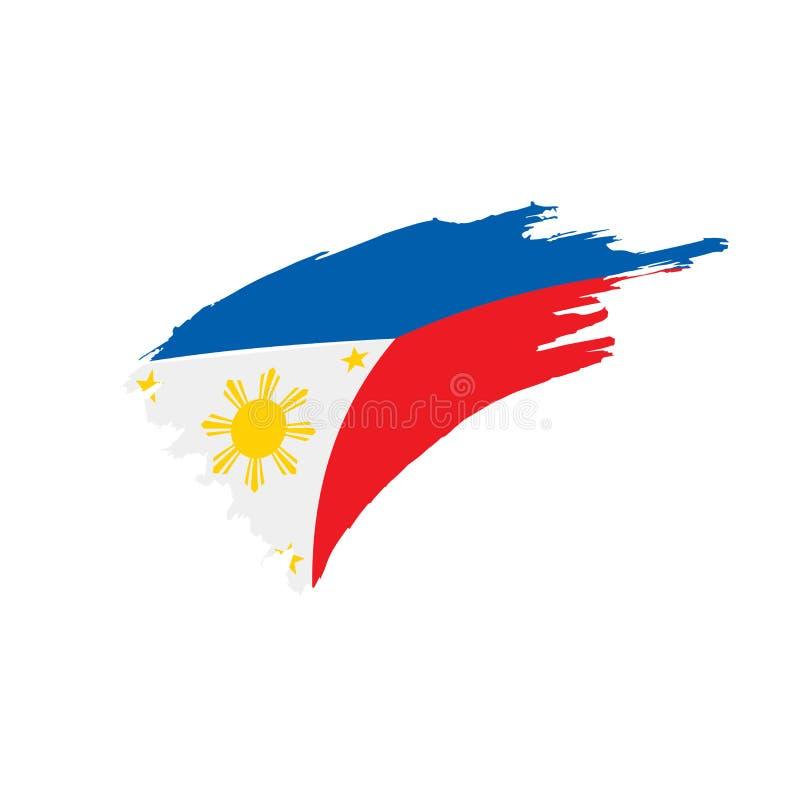 Philippines Flag Vector Illustration Stock Vector