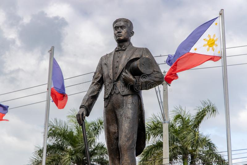 Philippines Hero Emilio Aguinaldo Monument at Malolos. Philippines stock photo