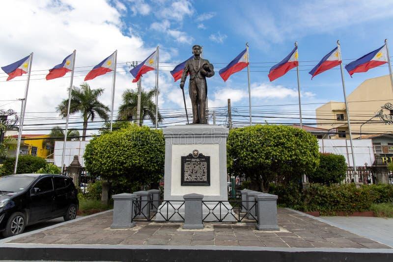 Philippines Hero Emilio Aguinaldo Monument at Malolos. Philippines stock images