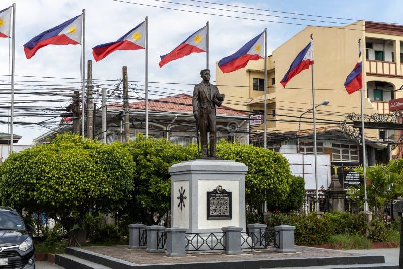 Philippines Hero Emilio Aguinaldo Monument at Malolos. Philippines royalty free stock image