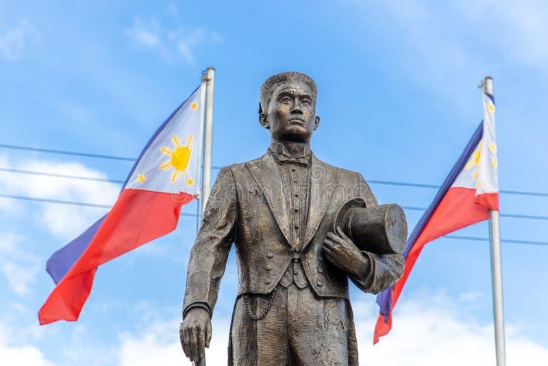 Philippines Hero Emilio Aguinaldo Monument at Malolos. Philippines royalty free stock images