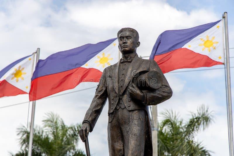 Philippines Hero Emilio Aguinaldo Monument at Malolos. Philippines stock photos