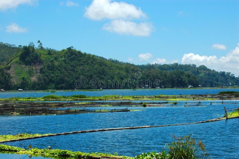 Philippines, Mindanao, lac Sebu photo stock