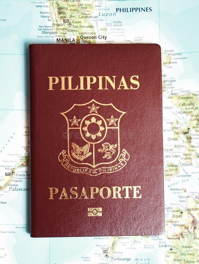 Philippines pass arkivbilder