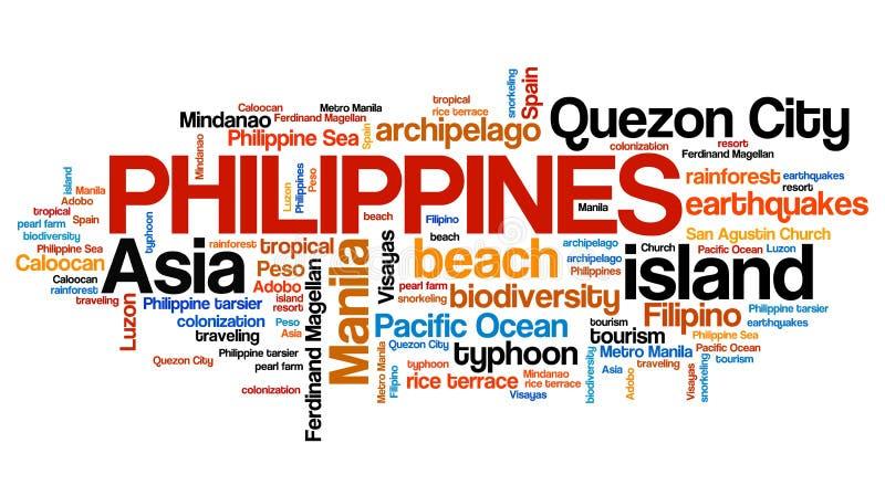 Philippines stock illustration