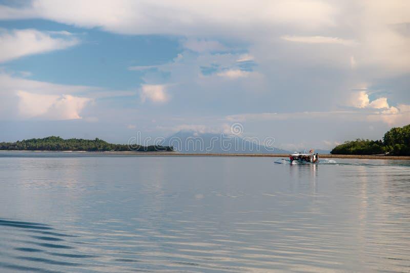 Philippinisch - schöne Landschaft bei Port-Barton, Palawan stockfotografie
