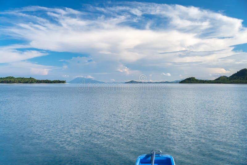 Philippinisch - schöne Landschaft bei Port-Barton, Palawan lizenzfreie stockfotos