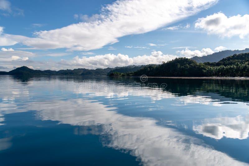 Philippinisch - schöne Landschaft bei Port-Barton, Palawan lizenzfreies stockbild