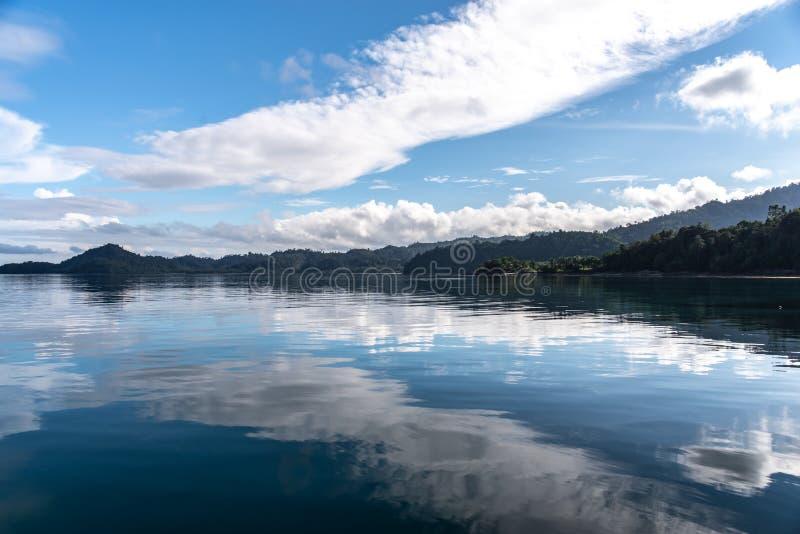 Philippinisch - schöne Landschaft bei Port-Barton, Palawan stockfoto