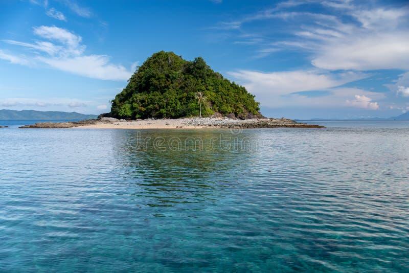 Philippinisch - schöne Landschaft bei Port-Barton, Palawan lizenzfreie stockfotografie