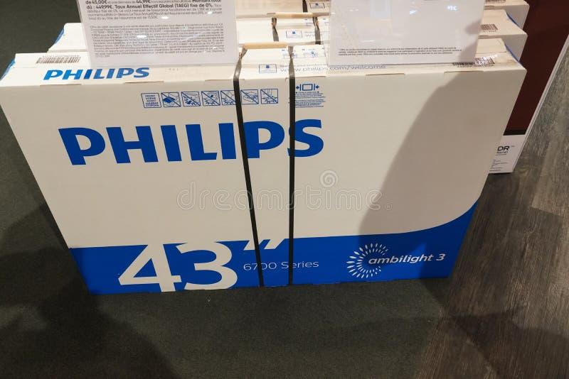 Philips Ambilight Tv image stock
