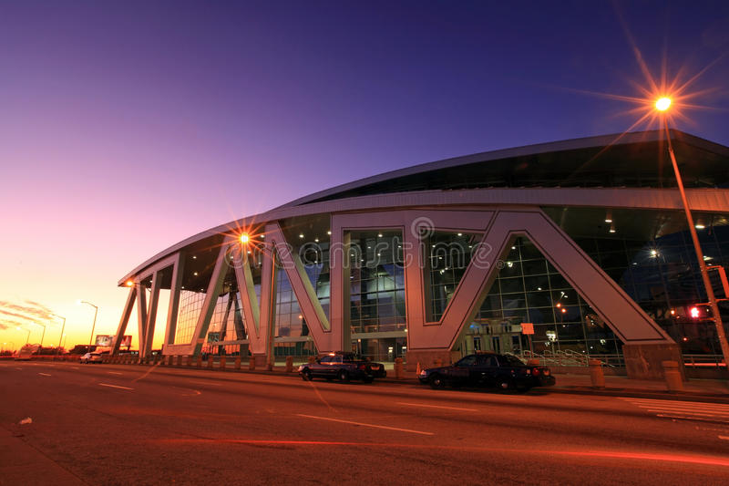 Philips Arena foto de stock