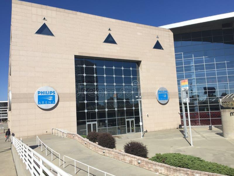 Philips Arena photos libres de droits