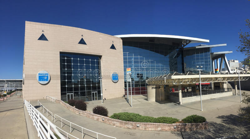 Philips Arena image stock