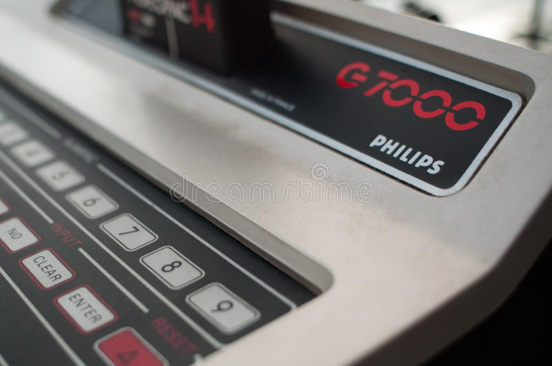 Philips G7000 video game computer stock photography