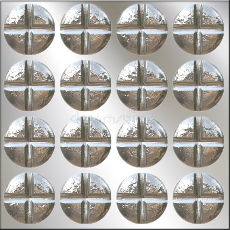 Download Philips Heads Pattern Royalty Free Stock Images - Image: 5681999