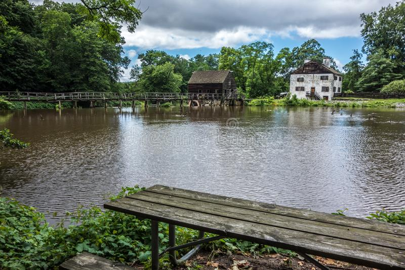 Philipsburg Manor stock images