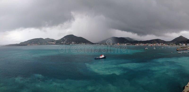 Philipsburg Sint Maarten stock foto's