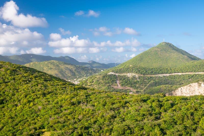 Philipsburg, Sint Maarten, Niederländische Antillen lizenzfreie stockbilder