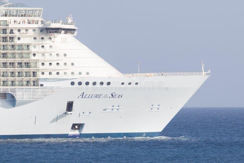 PHILIPSBURG, ST MAARTEN 25 Ιουλίου βασιλικές Καραϊβικές Θάλασσες, γοητεία του S στοκ εικόνα