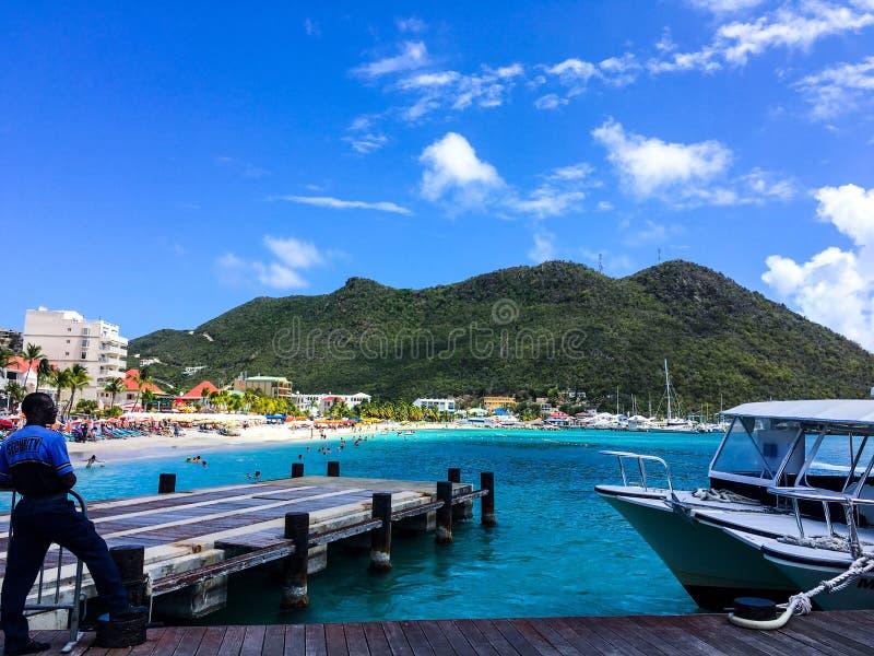 Philisburg morze karaibskie zdjęcia stock