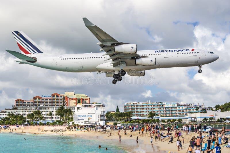 Philispburg, Sint Maarten, Néerlandais Antilles image libre de droits